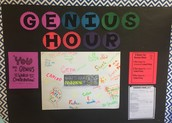 What's New in Room #212: Genius Hour
