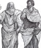 Plato and Aristotle. How did Plato and Aristotle continue to spread their beliefs?