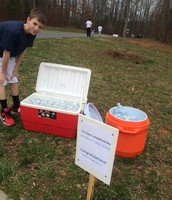 Water for the Barefoot Mile Walk