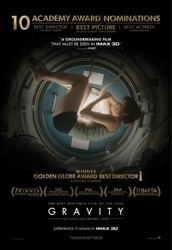 Veiwing of Gravity, starring Sandra Bullock and George Clooney