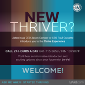 Become a Thriver today!