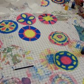 Radial Symmetry Circles