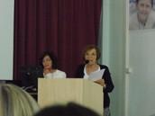 La prof.ssa Ada Zuppa fondatrice del progetto