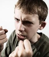 Aggresive Teen Boy