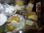 formaggi stagionati e freschi
