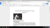 Cristiano Ronaldo: The Best?