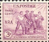 U.S. Postage Stamp in the 1930's