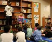 Mrs. Gordon's scholars at Leaphart Elementary