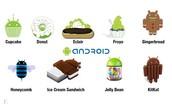 Alle versies van Android