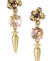 Cheryl Drop Cluster Earrings