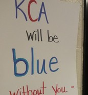 We will be blue...without you!