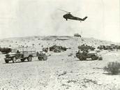 בתמונות שאתם רואים פה בשנת 1967 ביום השלישי של המלחמה אנו מסתערים לתוך מצרים.