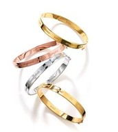 Inspiration Bangles  Gold and silver