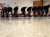 Physics lab has students rolling bowling balls down the halls of WHS