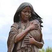 Sacagawea Monument