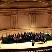 Weaver Chorale at Carnegie Hall