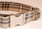 How To Have Burberry Dog Collar Made