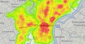 Philadelphia crime map