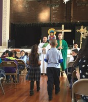 Beautiful Mass hosted by 2nd Grade