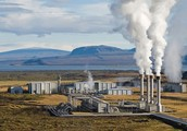 This is what the average geothermal energy plant looks like!!