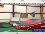 I am a pole vaulter.