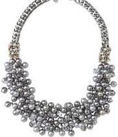 Isadora Pearl Bib Necklace $64