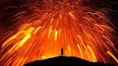 LAVA RAINS FROM THE SKY