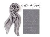 WESTWOOD SCARF - DOVE GREY METALLIC $20 (65% off)