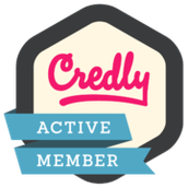 How do I set up my Credly account to receive my digital badges?