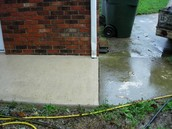 Ugly sidewalks & patios?  We can make them look new again!