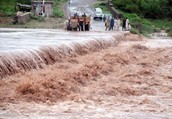 When are floods mostly like to occur