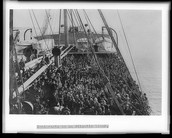 So Many Immigrants Would Board Ships.
