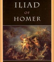 A picture of Homer's work The Illiad