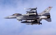 F-16 on patrol