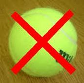 les gusta nada para jugar  tenis