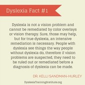 Things about Dyslexia