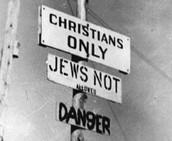 Segregation Signs