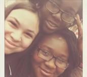 Me, Ashleigh and Sabina