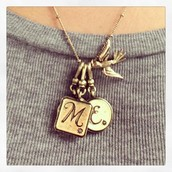Initial pendant charms $18