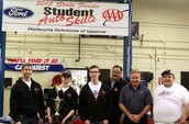Hutchison Auto takes 2nd place at Ford/AAA State Auto Competition