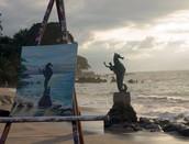 Paintings by Oscar Hyle