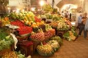 Algerian fruit and vegetable market