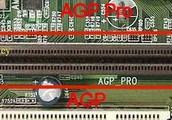 Motherboard component- AGP Slot