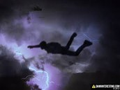 Jumping through the storm