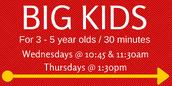 BIG Kids Storytime