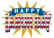 -9/7: No School (Labor Day)