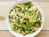 Starter: Caesar Salad with Ranch Dressing