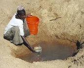 Everyone in Tanzania  can't get a clean source of water
