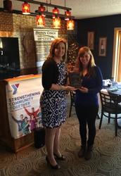 Molly Mancini, Senior, Named Amsterdam Family YMCA's 2015 Outstanding Senior