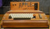 The first ever Apple product, also made by Steve Jobs. And i have the same birthday as him.